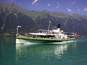 Lötschberg, Foto: Freunde der Dampfschiffahrt Thuner und Brienzer See