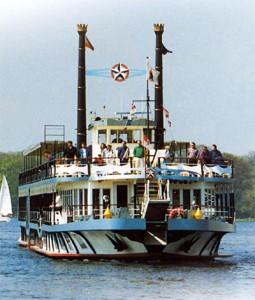 Havel Queen, Foto: Kreis und Stern Schifffahrt